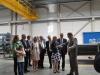 Niedax-Besuch mit Wirtschaftsministerin Eveline Lemke am 31.07.2014
