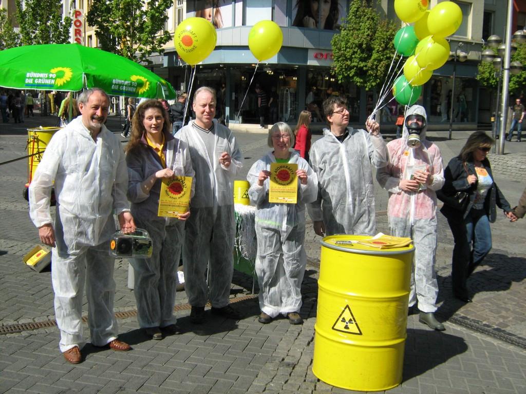 Anti Atomdemo Neuwied Luisenplatz