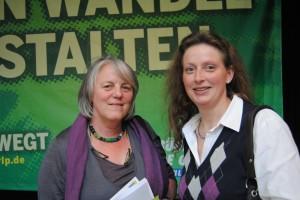 Ruth Ratter (MdL) und Elisabeth Bröskamp (MdL) - Mitglieder im Bildungsausschuss des Landtags RLP (2011-2016)