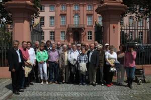 Besuchergruppe Landtag